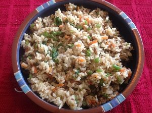 Vegetable Masala Rice